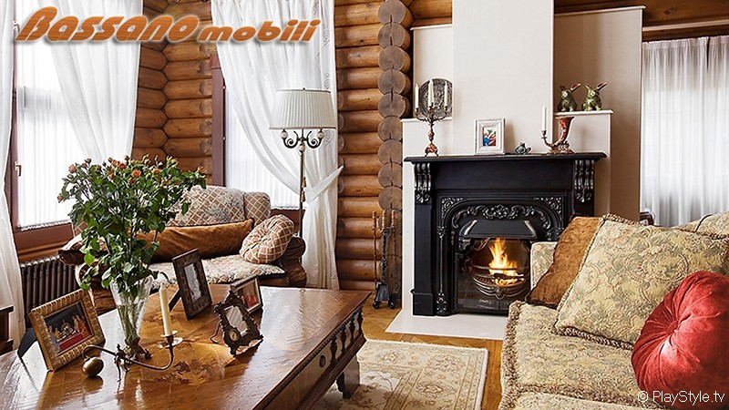 Дизайн гостиной в деревянном доме фото 2016-2017