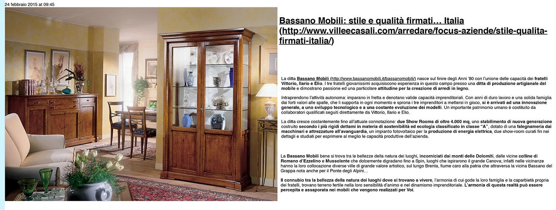 Bassano mobili restauro e riproduzione arredamento civitanova marche macerata mc marche - Mobili finale ligure ...